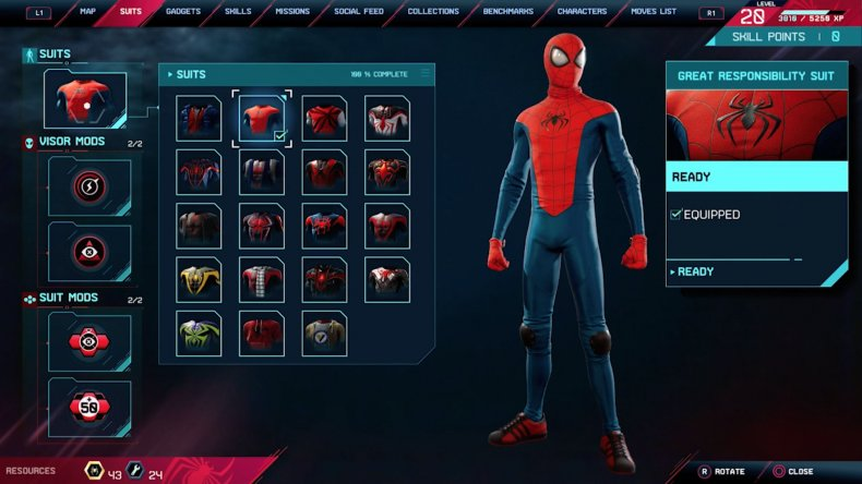 spiderman miles morales great responsibility suit