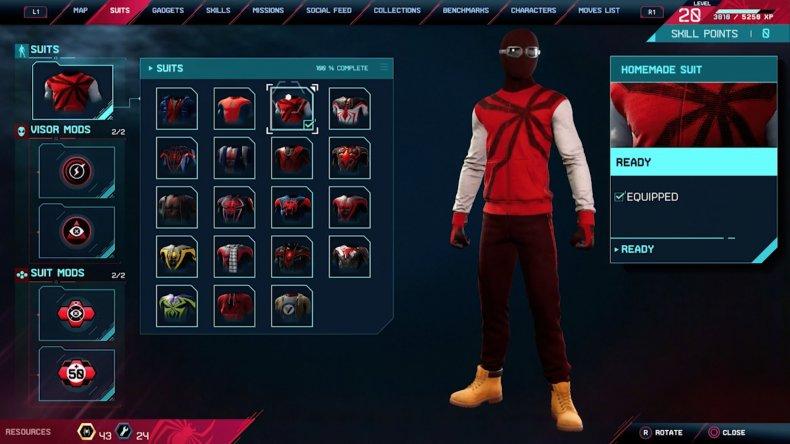 spiderman miles morales homemade suit