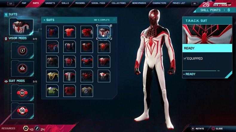 spiderman miles morales track suit