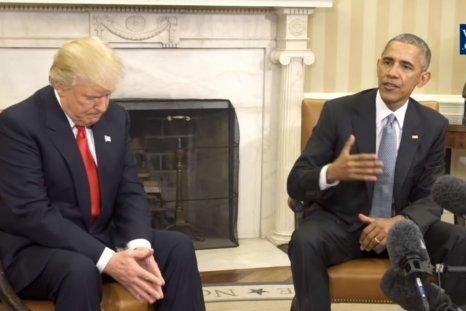 trump obama white house 2016