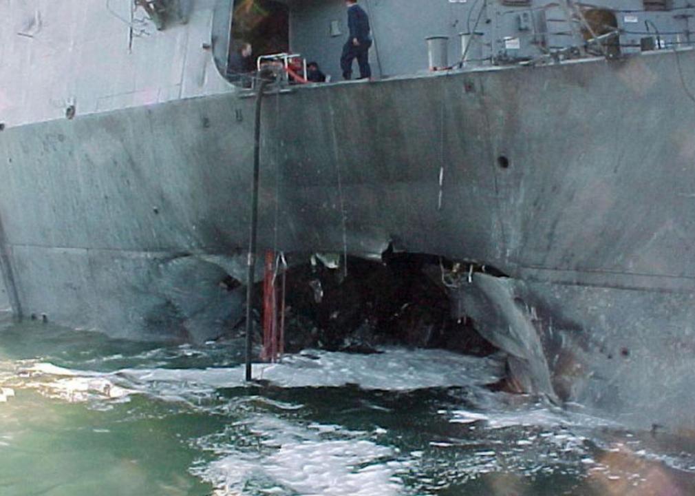 2000: USS Cole bombing