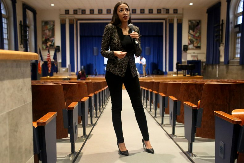 Alexandria Ocasio-Cortez Cori Bush shopping clothes advice