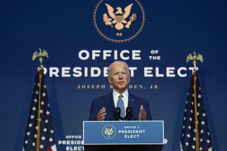 Joe Biden media briefing coronavirus November 2020