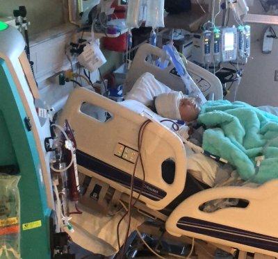 teenager, car crash, hospital
