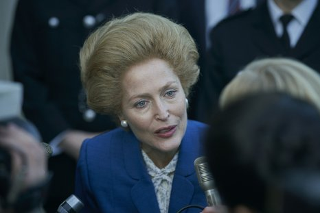 The Crown: Gillian Anderson as Margaret Thatcher