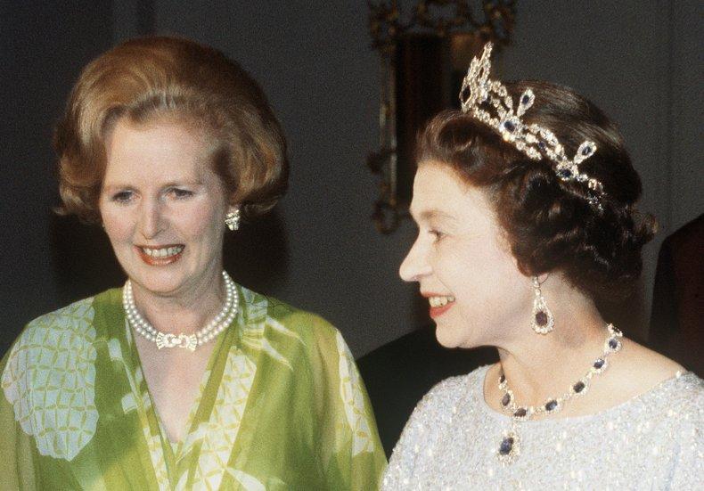 Queen Elizabeth II, Margaret Thatcher in Zambia