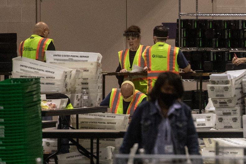 Election workers Philadelphia