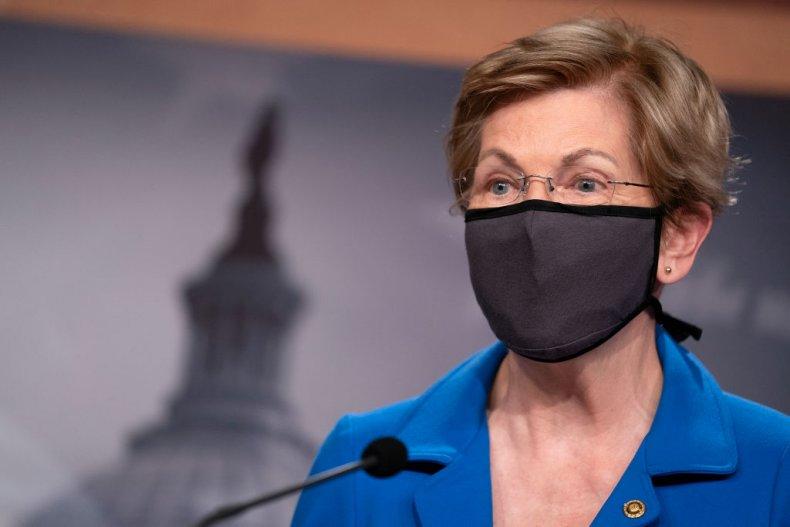 Senator Elizabeth Warren of Massachusetts