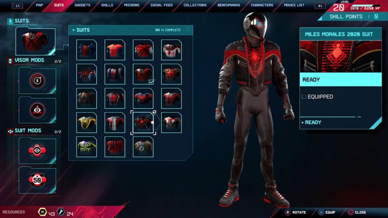 Spider-Man: Miles Morales' Suits: Every Costume, Mod and How They Work