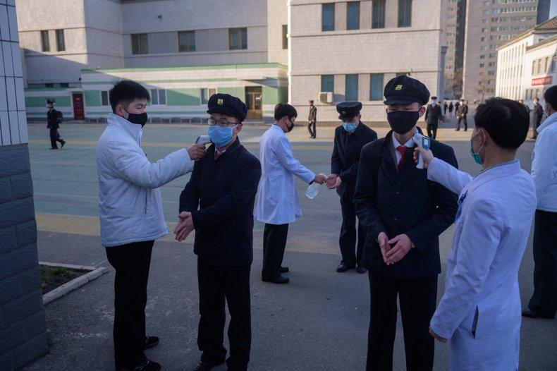Pyongyang University North Korea April 2020
