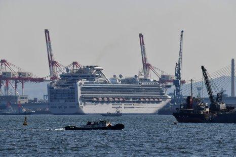 Japan Diamond Princess cruise ship March 2020