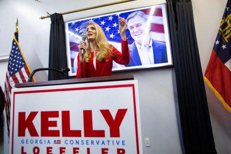 candidate Kelly Loeffler