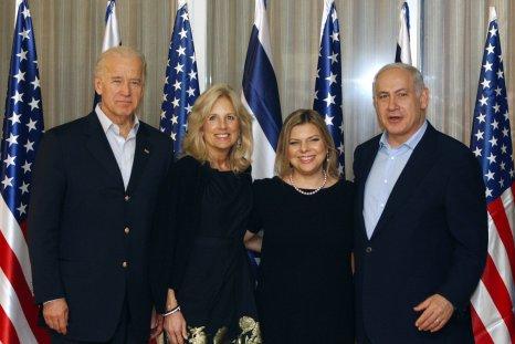 Former Vice President Joe Biden in Jerusalem