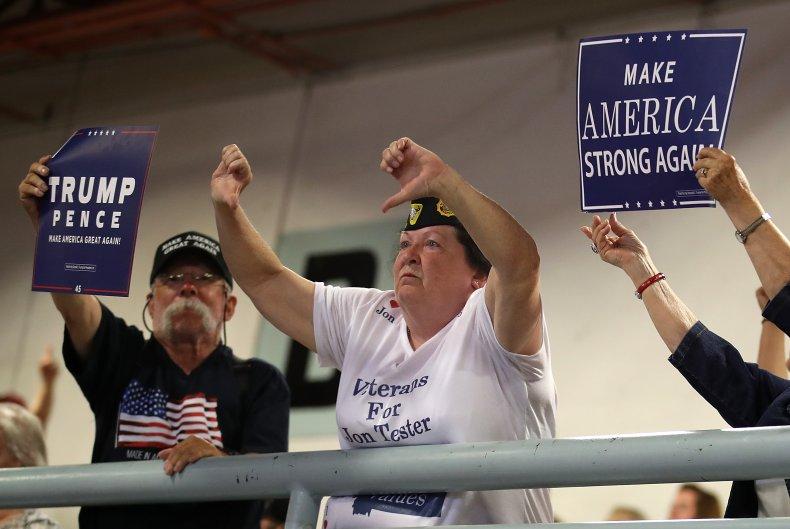 donald trump supporters economy share