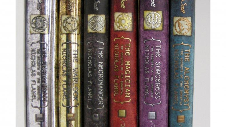 secrets of nicholas flamel book michael scott