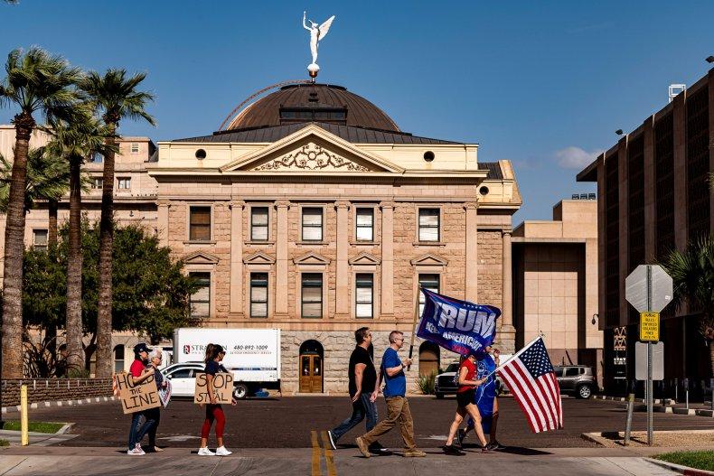 Arizona Trump protest