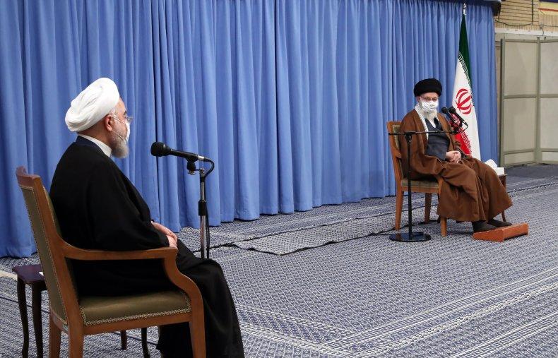 hassan, rouhani, ali, khamenei, speech, covid-19