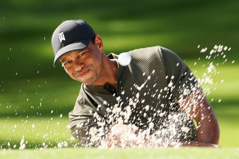 Tiger Woods 2020 Masters Tournament