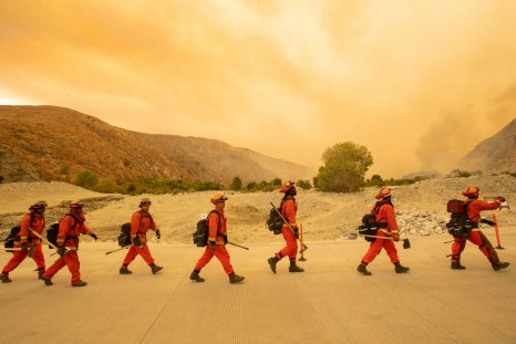 Inmate firefighters California August 2020