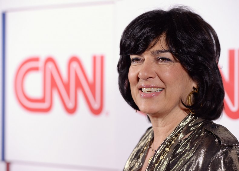 CNN Christiane Amanpour CNN Party 2014