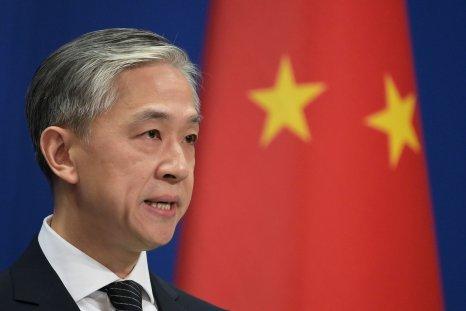 Chinese Foreign Ministry spokesman Wang Wenbin