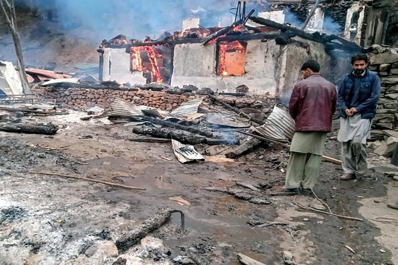 india, pakistan, kashmir, artillery, clash, border
