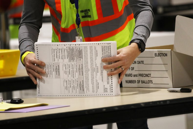Ballot counting in Pennsylvania