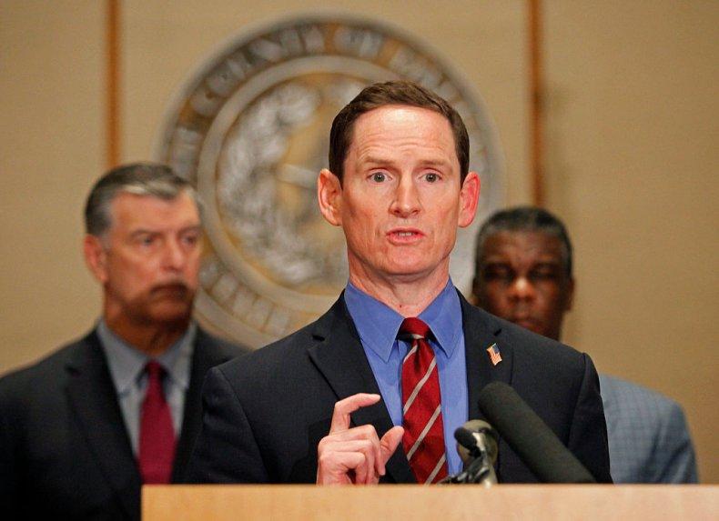 Dallas County Judge Clay Jenkins