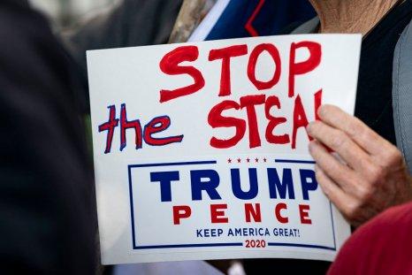Trump Sign Washington D.C.