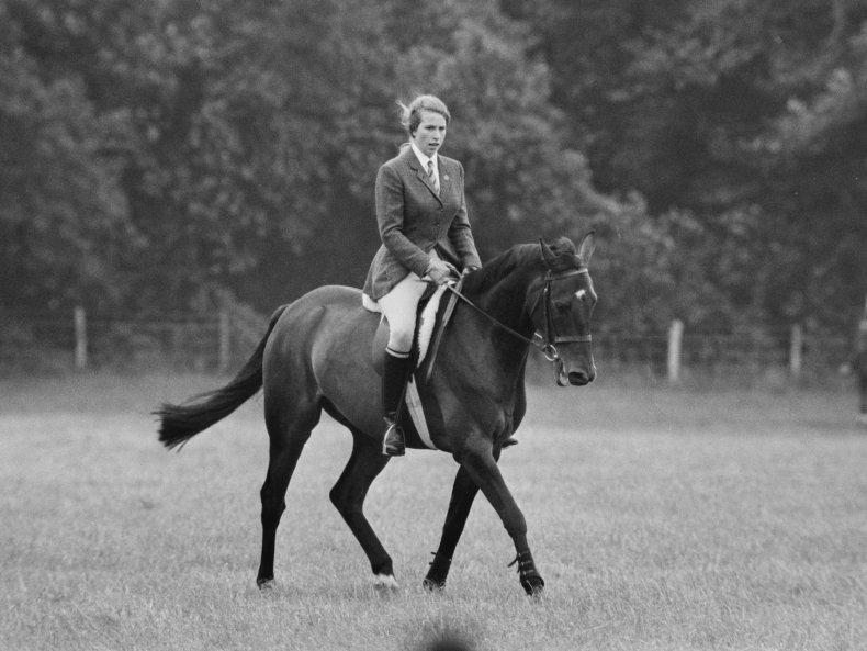 Princess Anne Horseback Riding