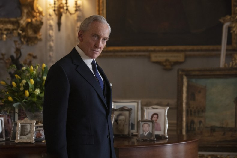 The Crown Lord Mountbatten