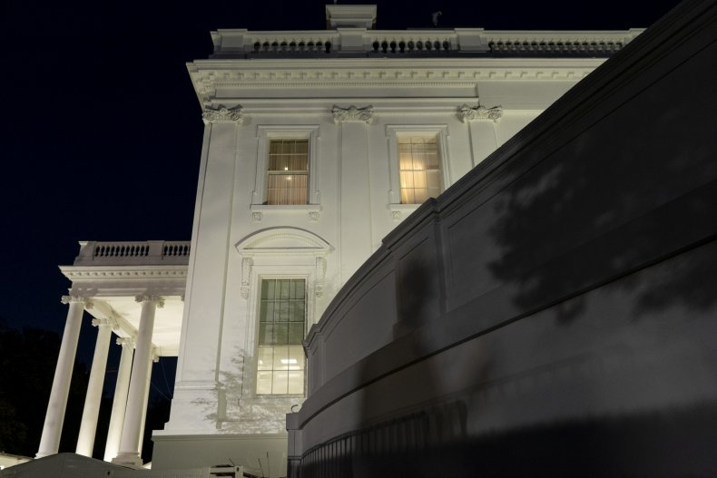 donald, trump, white, house, shadow