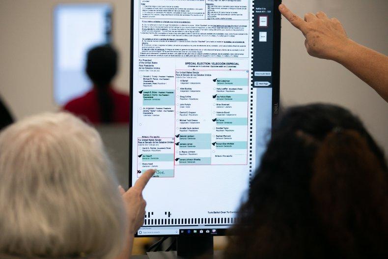 Georgia ballot count
