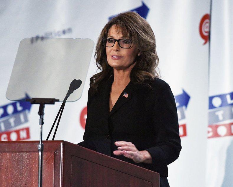 Sarah Palin in California