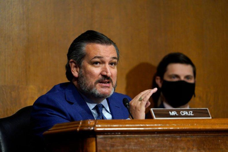 Senator Ted Cruz of Texas