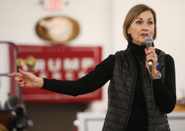 Iowa Gov. Kim Reynolds October 2020