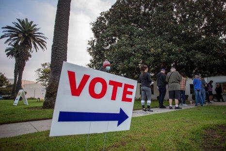 Voters, Huntington Beach, California, 2020 Election