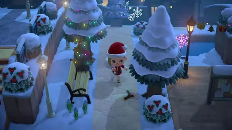 animal crossing new horizons christmas update