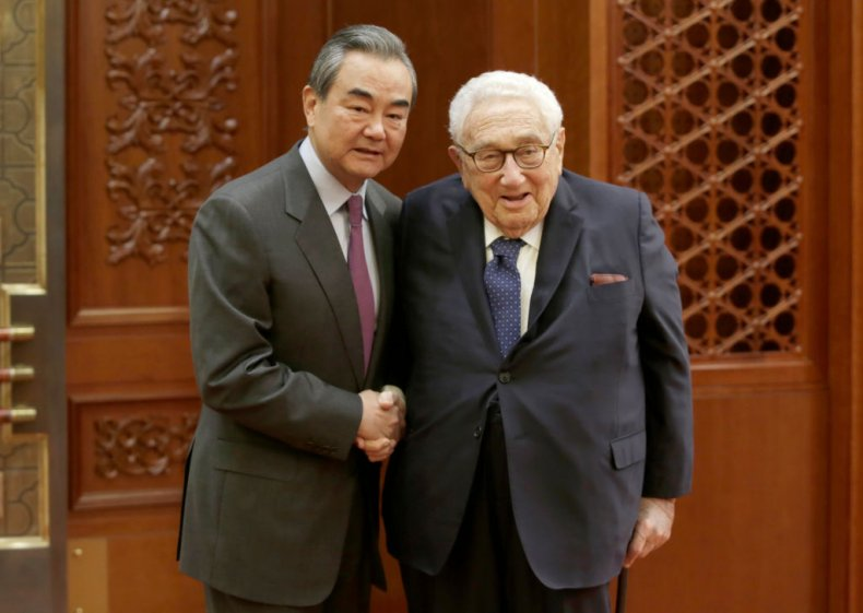 Henry Kissinger Wang Yi