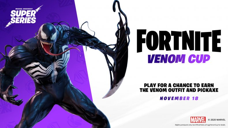 fortnite venom cup start time logo