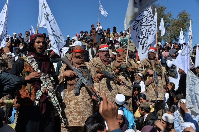afghan, taliban, celebrate, peace, deal