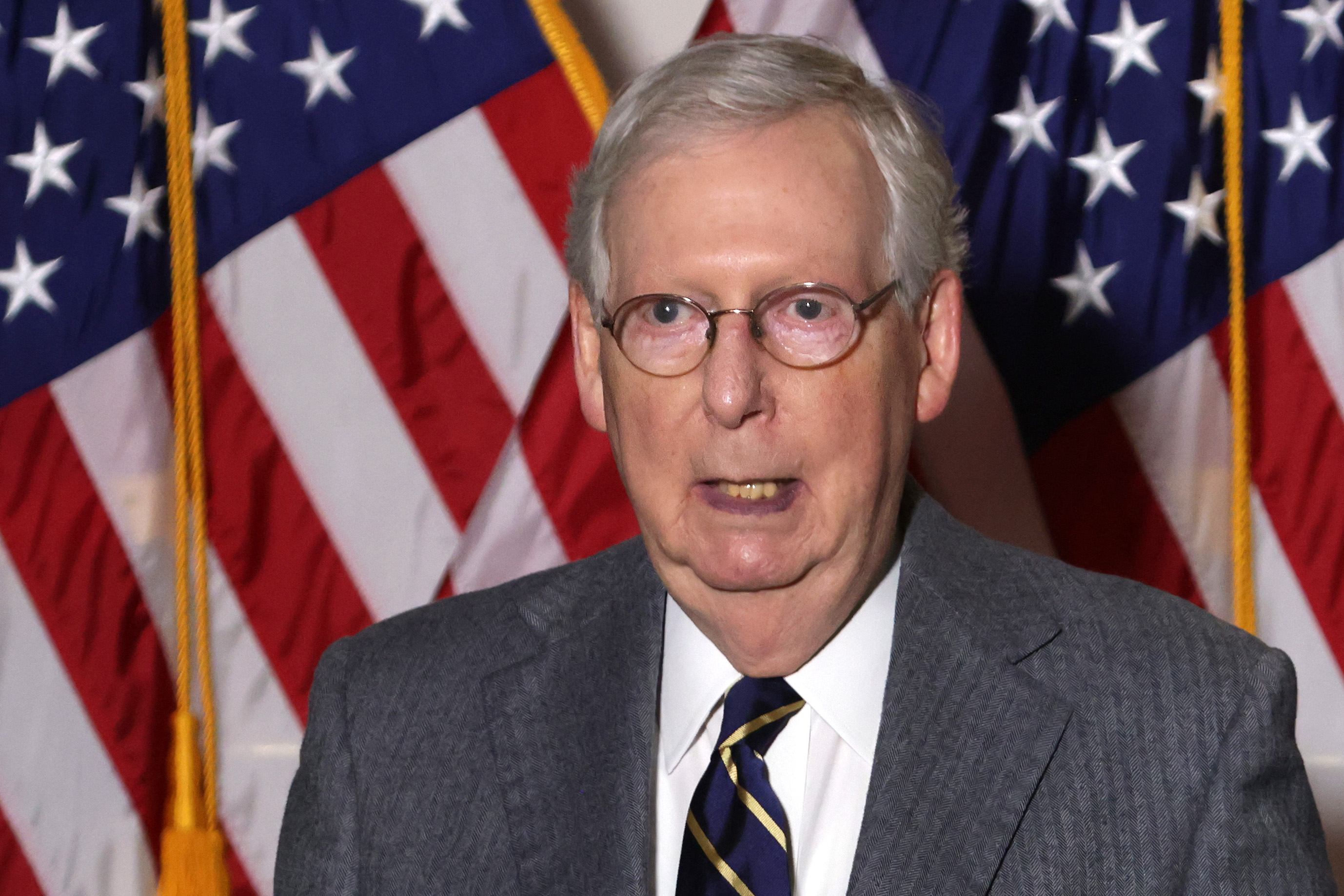 Mitch McConnell Vows 'Orderly' Transfer of Power Will Happen On Time Despite Trump's Refusal to Concede