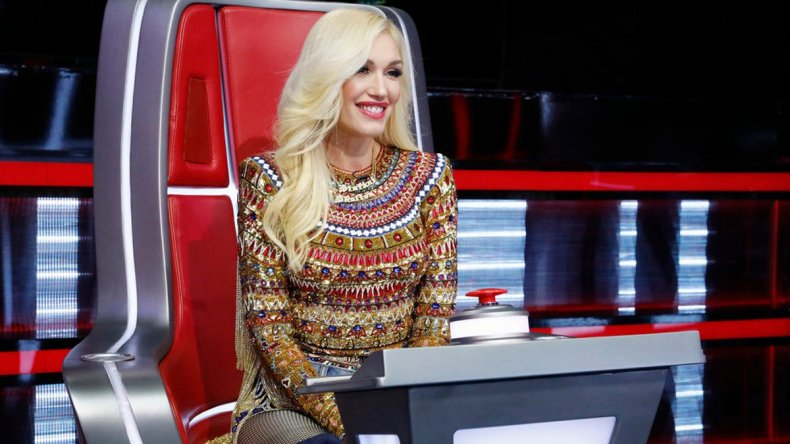 gwen stefani leaving the voice