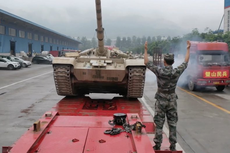 PLA Army type 56 tank