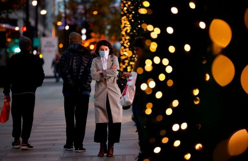 Christmas at Selfridges department store in London