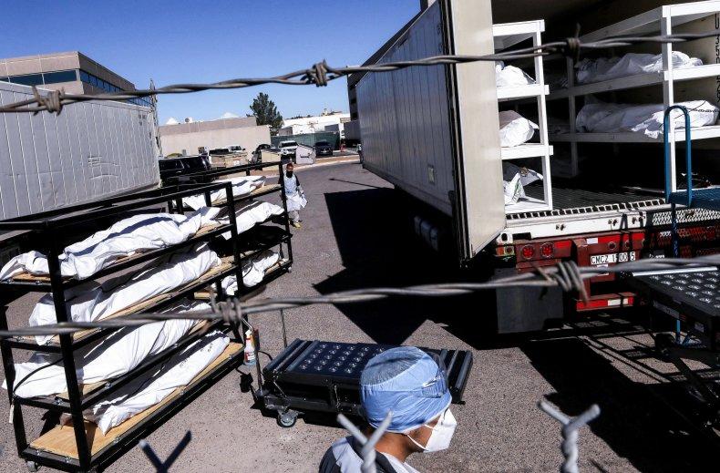 El Paso Texas COVID-19 morgue November 2020