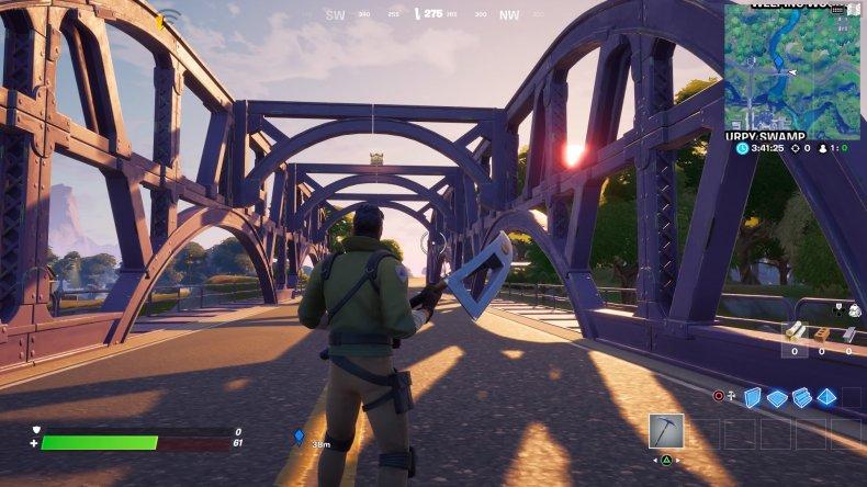 fortnite colored bridge location 5 gameplay