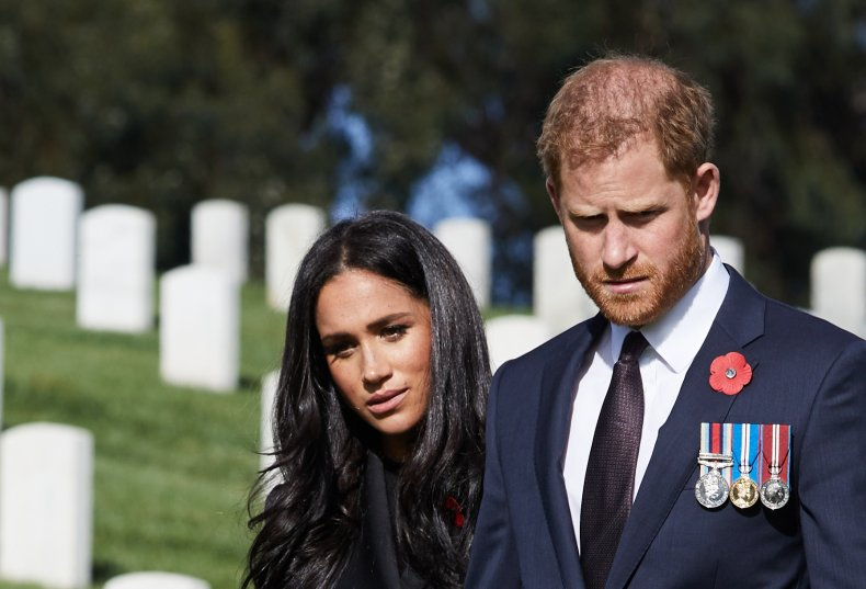 Meghan Markle and Prince Harry Remembrance