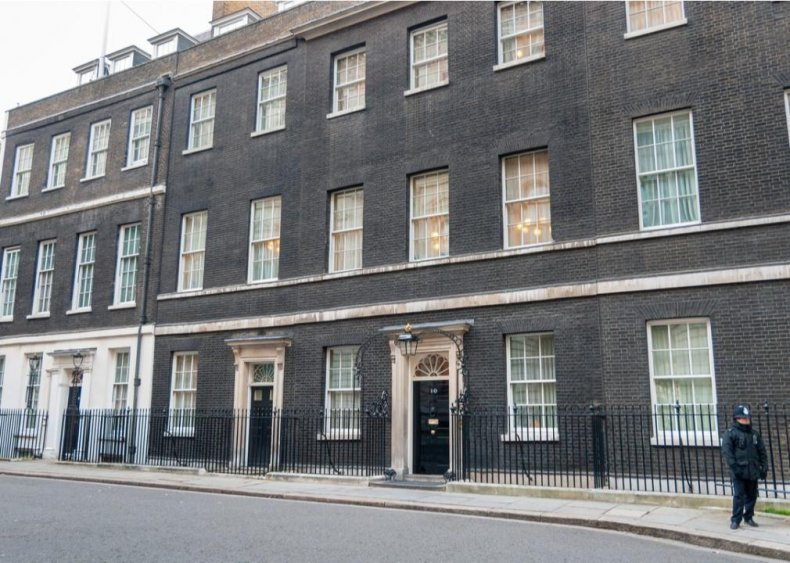 Boris Johnson: 10 Downing Street