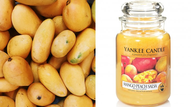 Yankee Candle Mango Peach Salsa Scented Candle
